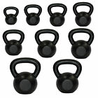 Cast Iron Kettlebell Strength Training Home Gym Fitness Dumbells Kettlebells