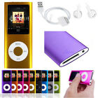 "0GB/8GB 1.8""LCD Digital MP3 MP4 FM Radio Music Video 4th Player Micro SD/TF Card"