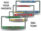 NBA Teams - Licensed Bling Glitter Chrome License Plate Frame Car Truck Wall