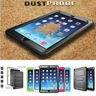 Rugged Dual Layer Hybrid Full Protective Case Cover for iPad Air & iPad Air 2