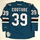 LOGAN COUTURE SAN JOSE SHARKS TEAL REEBOK NHL PREMIER JERSEY NEW WITH TAGS