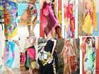 Beach Sarong Wrap Body Cover Up Scarf Various Designs Chiffon Style