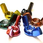 M3 GWR Colourfast® Wing Nuts - A2 Stainless Steel - Coloured Nut