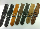 Gents Best quality Extra heavy leather watch strap To suit Fossil, Deisel, D&G