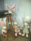 Easter Plush Bunny Rabbit Garden Friends Assorted Styles Great Gift from Nana