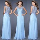 New Lady Sexy Lace Prom Evening Party Maxi Dress Formal Wedding Bridesmaid Dress