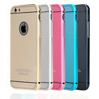 New Luxury Aluminum Ultra-thin Case Back Cover Skin For iPhone 6 6+ Plus 4.7 5.5
