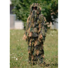 Army Ghillie Suit 3-D Camo System 3 Pcs. Airsoft Sniper Hunting Fishing Woodland