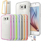 Slim Transparent Crystal Clear Hard TPU Case for Samsung Galaxy S6 / Edge #GS61