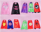 Double side 55*70CM superhero capes for kids Birthday Party Children Gift
