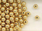 14K Gold Filled Beads Beads, 6mm Seamless Round Design, New
