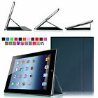 Multi-View Slim Leather Smart Book Cover Stand Case for iPad 4 Retina,iPad 3 & 2