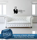 SEAN CONNERY JAMES BOND DECAL STICKER WALL ART GRAPHIC VARIOUS COLOUR £34.99 GBP