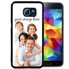 CUSTOM IMAGE RUBBER CASE FOR SAMSUNG S6 S7 S8 EDGE PLUS YOUR PHOTO LOGO
