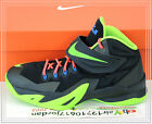 Nike Soldier VIII GS 8 Black Electric Green 653645-012 US 4~7Y Youth Kids Boys