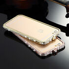 Top-level Natural Wood Chip+Metal Frame Phone Cover Case for iPhone 6 / Plus