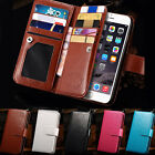 Luxury Leather Flip Cover Card Wallet Case For Apple iPhone 6 4.7/ 6+ Plus 5.5