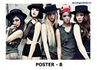 f(x) RED LIGHT OFFICIAL POSTER UNFOLDED IN A TUBE + GIFT PHOTO, New