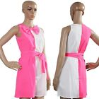 2015 New Women's Sleeveless With Bow Chiffon Dress Stitching Girdling Skirt - CB