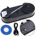 Mini USB Turntable Vinyl LP to MP3 CD WAV PC Mac Converter 33RPM Record Player