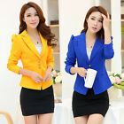 Elegant Fashion Classic One Button Slim Business Blazer Suit Jacket Coat Outwear