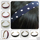 Elegant Princess Ladies Style Point Charms Headbands Plastic Cloth 2PCS