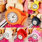 Unisex Kids Children Slap on Girls Silicone Quartz Sports Watch Xmas Gift