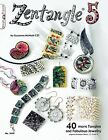 ZENTANGLE 5-Line Drawing Altered Art Jewelry-Paper Craft Idea Book-Tangles