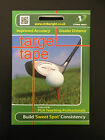 TARGET TAPE - Golf Shot Aid - Golf Ball Club Impact Labels - Pack of 44 Stickers