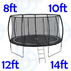 Vortex Trampolines - Rain Cover - Ladder - Various Sizes - 8ft-10ft-12ft-14ft