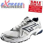 Hi Tec Mens R156 Running Fitness Gym Workout Trainers White *AUTHENTIC*