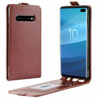 Samsung Galaxy S6 Phone Luxury Genuine Real Leather Side Flip Case Cover New Uk