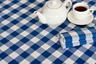 """15 Yards Checkered Fabric 60"""" Wide Gingham Buffalo Check Tablecloth Fabric Decor"""