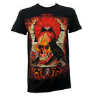 Authentic CONVERGE Band Hooper Crow Thomas Hooper Art Slim Fit T-Shirt S-2XL NEW