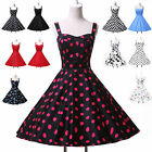 Housewife Vintage Retro Style 50s Swing Floral Party Pinup Rockabilly Jive Dress