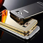 Ultra-thin Aluminum Metal Case Mirror Back Cover Skin for Samsung S6 S6 Edge