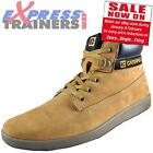 Caterpillar Mens POE Casual Classic Premium Leather Hi Top Boots * AUTHENTIC *