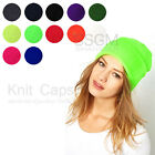 Fashion Chic Beanie Unisex Punk Knit 12 Candy Color Neon Ski Hat Stretchable Cap
