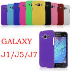 For Samsung Galaxy J1 J5 J7 Rigid Rubberized Plastic Slim Matte Case Cover Skin