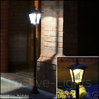 6 LED SOLAR POWERED LAMP POST SECURITY OUTDOOR GARDEN PATIO PATH LIGHT 1.2M