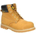 AMBLER F7 HONEY STEEL TOE CAP SAFETY WORK BOOTS all sizes