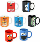 Sesame Street Coffee / Tea Mug - New + Official In Box Elmo Cookie Monster Oscar