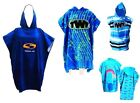 SOLA HOODED SURF CHANGING ROBE BEACH PONCHO CHANGING TOWEL JET SKI SWIM TOWEL