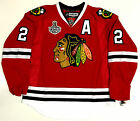 DUNCAN KEITH CHICAGO BLACKHAWKS 2010 CUP EDGE AUTHENTIC REEBOK VECTOR JERSEY