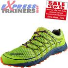 Merrell Mens Mix Master Move Premium Course Fitness Gym Chaussures Citron Vert