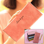 PU Leather Wallet Long Bifold Purse Money Credit Card Holder Handbags Lady BLS