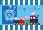 Personalised Peppa Pig Party Invites (Design 3) - All Occassions