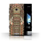 Stuff4 Hülle/Case/Backcover für Sony Xperia P/LT22i/Aztec Tier Muster