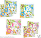 20 Safari Animals Boy's Girls 1st Birthday Party 33cm Paper Luncheon Napkins
