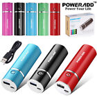 cell phone battery power - Portable 5000mAh Power Bank External Battery USB Charger for Cell Phone iPhone